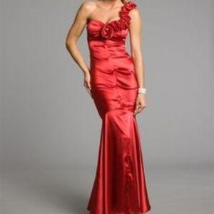 Blondie Nites Sweetheart Mermaid Dress size 3